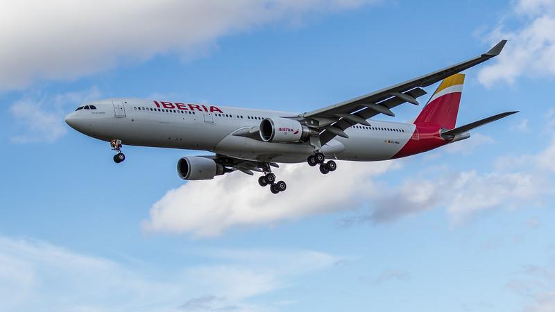 Iberia - Airbus A330-302 (EC-MAA) - Heathrow Airport (June 2020)