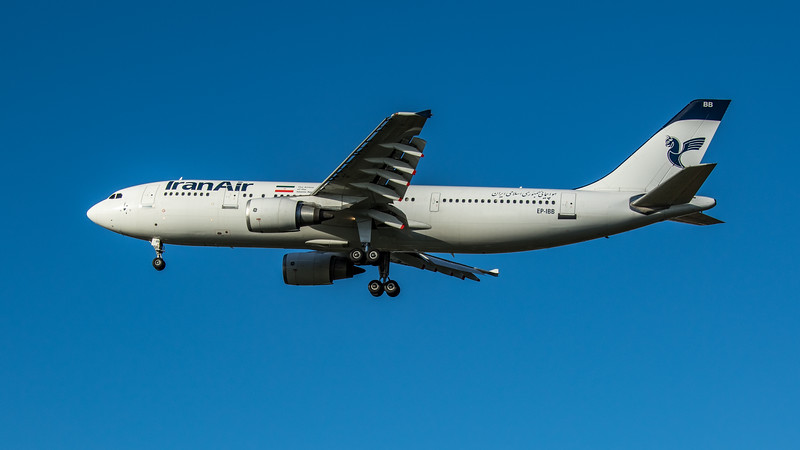 Iran Air - Airbus A300B4-605R (EP-IBB) - Heathrow Airport (March 2020)