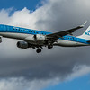 KLM - Embraer E190-STD (PH-EXB) - Heathrow Airport (March 2020)