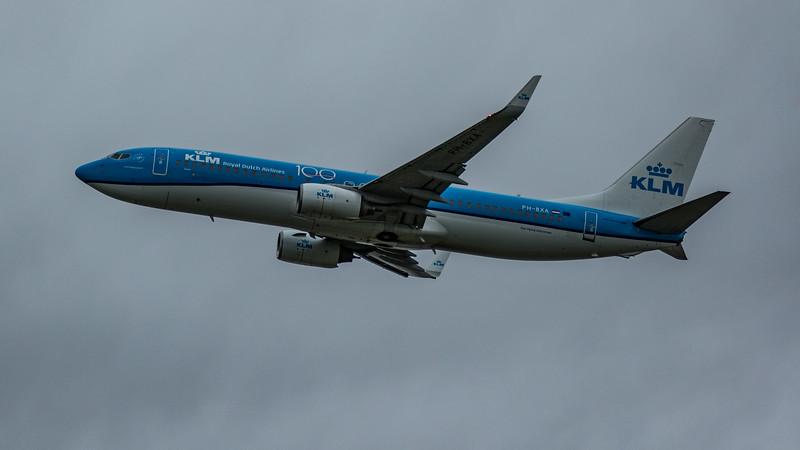 KLM - Boeing 737-8K2 (PH-BXA) - Heathrow Airport (March 2020)