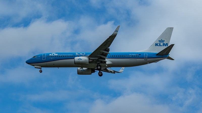KLM - Boeing 737-8K2 (PH-BCB) - Heathrow Airport (June 2020)