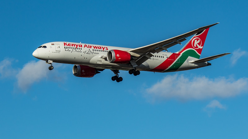 Kenya Airways - Boeing 787-8 Dreamliner (5Y-KZH) - Heathrow Airport (March 2020)