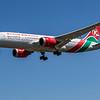 Kenya Airways - Boeing 787-8 Dreamliner (5Y-KZB) - Heathrow Airport (June 2021)