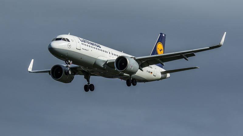 Lufthansa - Airbus A320-271N (D-AINH) - Heathrow Airport (February 2020)