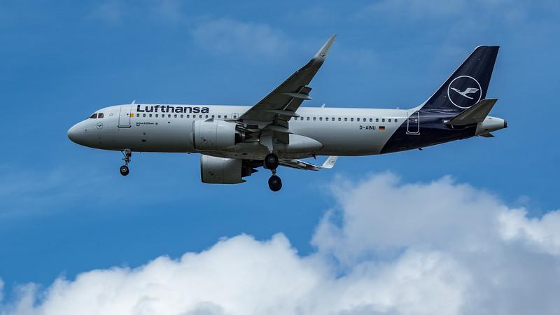 Lufthansa - Airbus A320-271N (D-AINU) - Heathrow Airport (June 2020)