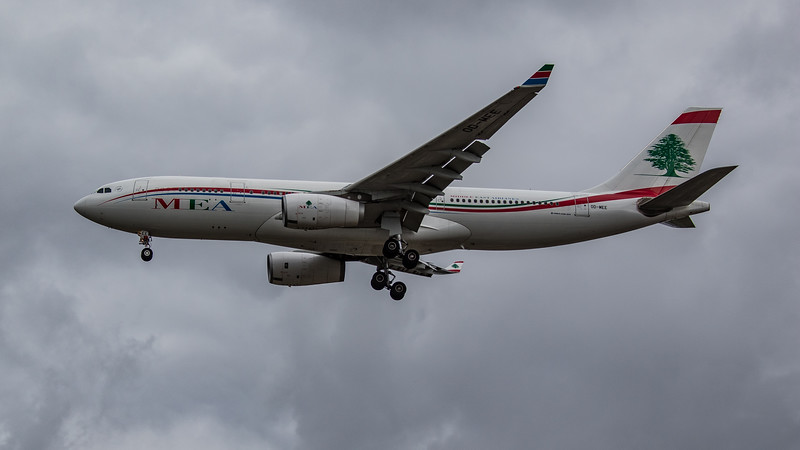 MEA - Airbus A330-243 (OD-MEE) - Heathrow Airport (August 2020)