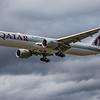 Qatar Airways - Boeing 777-3DZ(ER) (A7-BEA) - Heathrow Airport (June 2020)