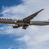 Qatar Airways - Boeing 777-3DZ(ER) (A7-BET) - Heathrow Airport (July 2020)