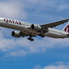 Qatar Airways - Boeing 777-3DZ(ER) (A7-BER) - Heathrow Airport (July 2020)
