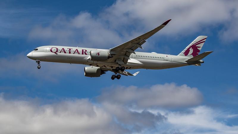 Qatar Airways - Airbus A350-941 (A7-ALN) - Heathrow Airport (July 2020)