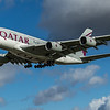 Qatar Airways - Airbus A380-861 (A7-APJ) - Heathrow Airport (February 2020)