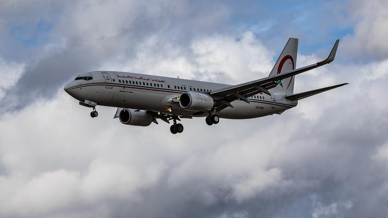 Royal Air Maroc - Boeing 737-8B6 (CN-RGK) - Heathrow Airport (August 2020)