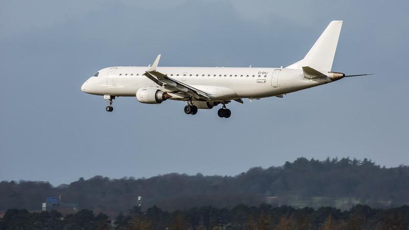 Stobart Air - Embraer E190-AR (EI-GHJ) - Edinburgh Airport (February 2020)