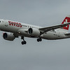 Swiss - Airbus A220-300 (HB-JCJ) - Heathrow Airport (March 2020)