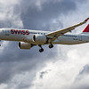 Swiss - Airbus A220-300 (HB-JCK) - Heathrow Airport (June 2020)