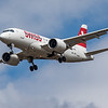 Swiss - Airbus A220-100 (HB-JBG) - Heathrow Airport (August 2020)