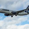 Tarom - Boeing 737-8H6 (RY-BGM) - Heathrow Airport (March 2020)