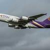 Thai Airways - Airbus A380-841 (HS-TUD) - Heathrow Airport (March 2020)