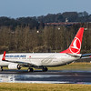 Turkish Airlines - Boeing 737-8F2 (TC-JVO) - Edinburgh Airport (February 2020)