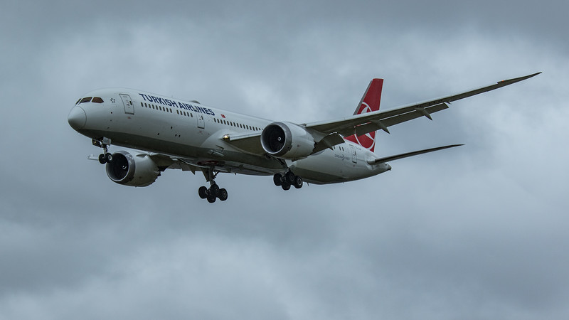 Turkish Airlines - Boeing 787-9 Dreamliner (TC-LLD) - Heathrow Airport (June 2020)