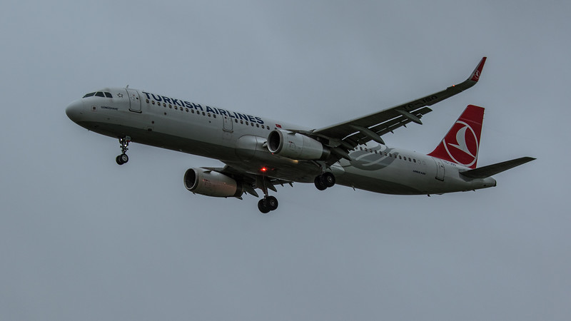 Turkish Airlines - Airbus A321-231 (TC-JSO) - Heathrow Airport (February 2020)