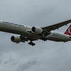 Turkish Airlines - Boeing 777-3F2(ER) (TC-JJG) - Heathrow Airport (March 2020)
