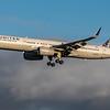 United Airlines - Boeing 757-224 (N34137) - Edinburgh Airport (February 2020)