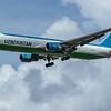 Uzbekistan Airways - Boeing 767-339(ER)(BCF) (UK67001) - Heathrow Airport (June 2020)