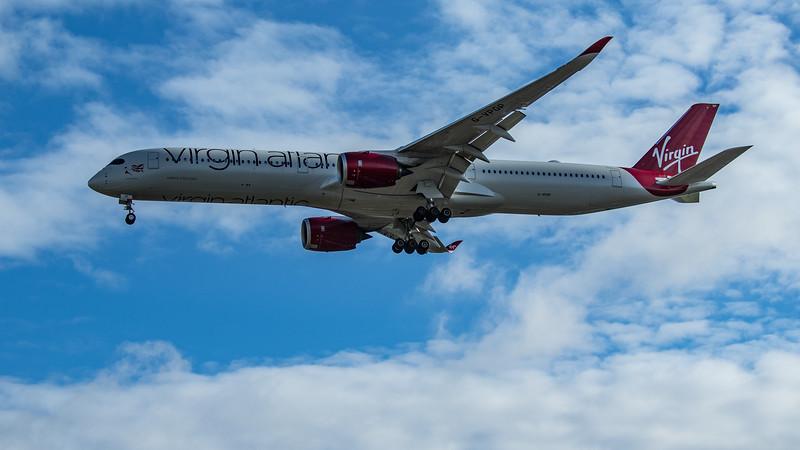 Virgin Atlantic - Airbus A350-1041 (G-VPOP) - Heathrow Airport (June 2020)