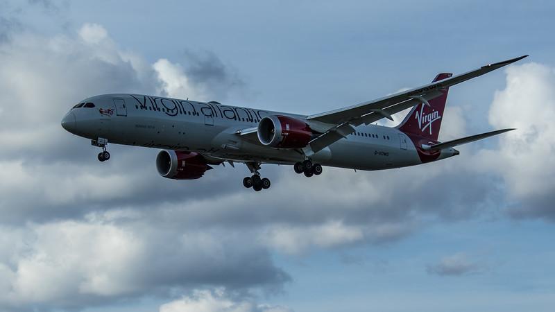 """Virgin Atlantic """"Maid Marian""""  - Boeing 787-9 Dreamliner (G-VOWS) - Heathrow Airport (June 2020)"""