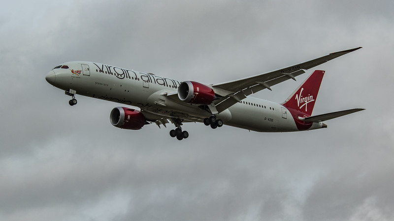 Virgin Atlantic - Boeing 787-9 Dreamliner (G-VZIG) - Heathrow Airport (March 2020)