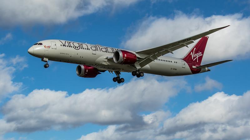Virgin Atlantic - Boeing 787-9 Dreamliner (G-VFAN) - Heathrow Airport (March 2020)