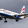 British Airways - Airbus A320-232 (G-EUUI) - Heathrow Airport (March 2019)