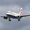 British Airways - Airbus A319-131 (G-EUPK) - Heathrow Airport (March 2019)