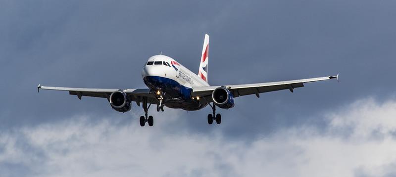 British Airways - Airbus A319-131 (G-EUPL) - Heathrow Airport (March 2019)