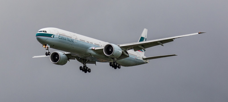 Cathay Pacific - Boeing 777-367(ER) (B-KQZ) - Heathrow Airport (March 2019)