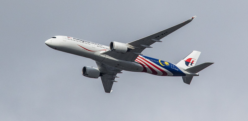 Malaysia Airlines (Malaysia Negaraku Livery) - Airbus A350-941 (9M-MAG) - Heathrow Airport (March 2019)