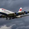British Airways - Airbus A380-841 (G-XLED) - Heathrow Airport (March 2019)