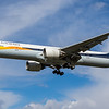 Jet Airways - Boeing 777-35R(ER)  (VT-JEW) - Heathrow Airport (March 2019)