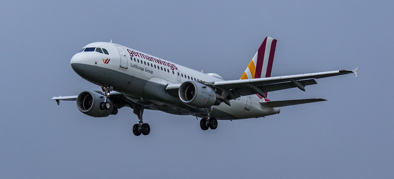 Eurowings - Airbus A319-112 (D-AKNT) - Heathrow Airport (March 2019)