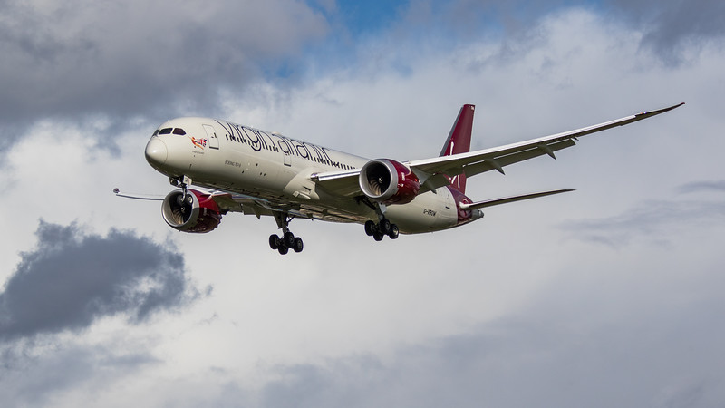 Virgin Atlantic - Boeing 787-9 Dreamliner (G-VBOW) - Heathrow Airport (March 2019)