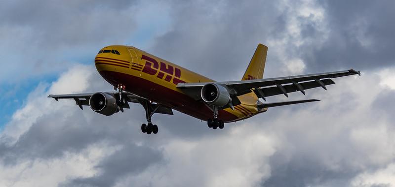 DHL - European Air Transport - Airbus A300-B4-622R(F)  (D-AEAA) - Heathrow Airport (March 2019)