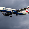British Airways - Airbus A320-232 (G-EUUH) - Heathrow Airport (March 2019)