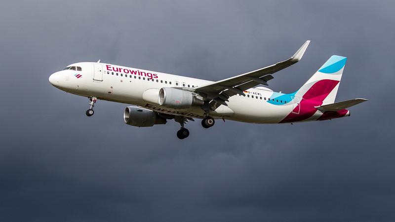 Eurowings - Airbus A320-214 (D-AEWL) - Heathrow Airport (March 2019)