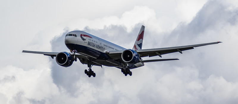British Airways - Boeing 777-236 (G-ZZZB) - Heathrow Airport (March 2019)