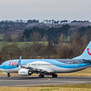 TUI - Boeing 737-8K5 (G-FDZB) - Edinburgh Airport (January 2020)