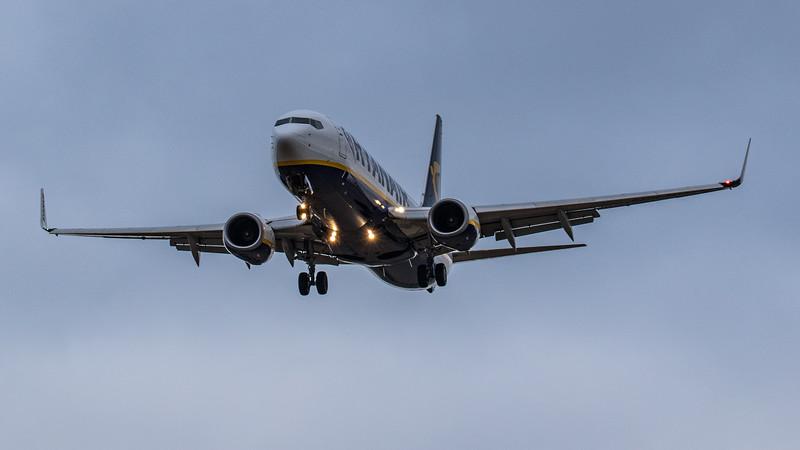 Ryanair - Boeing 737-8AS (EI-FID) - Edinburgh Airport (January 2020)