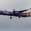 Flybe - De Havilland Canada Dash 8-400 (G-JEDP) - Edinburgh Airport (January 2020)