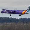 Flybe - De Havilland Canada Dash 8-400 (G-JEDW) - Edinburgh Airport (January 2020)