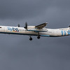 Flybe - De Havilland Canada Dash 8-400 (G-ECOB) - Edinburgh Airport (January 2020)